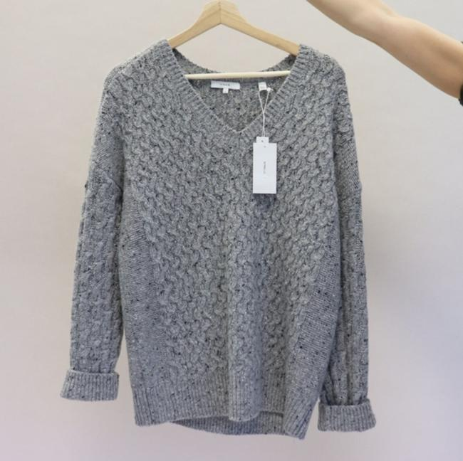 Vince Cable Merino V-neck Wool Sweater Image 4