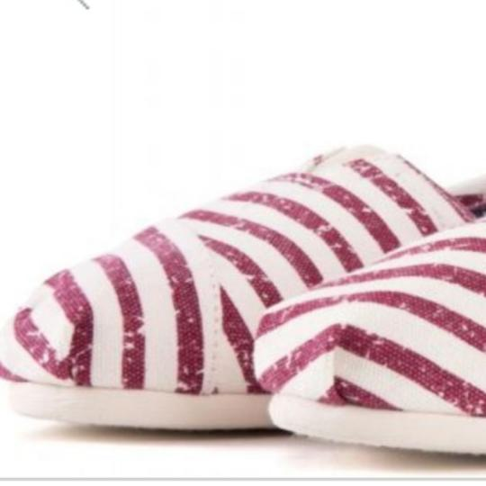 TOMS Flag print red white blue Flats Image 4