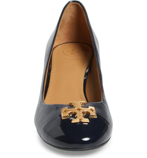 Tory Burch Perfect Navy Pumps Image 3