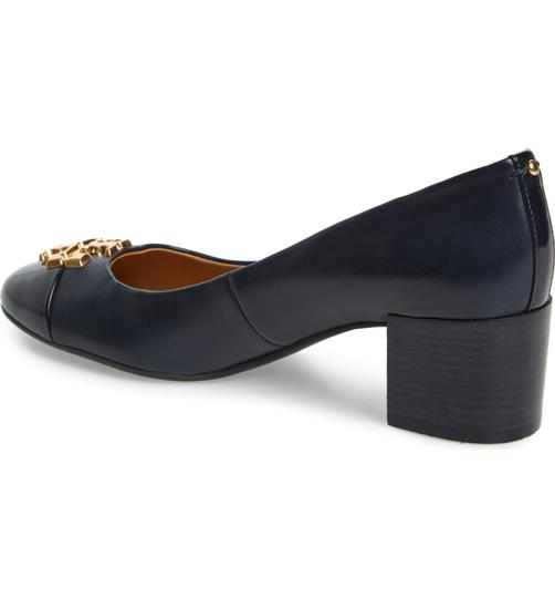 Tory Burch Perfect Navy Pumps Image 4