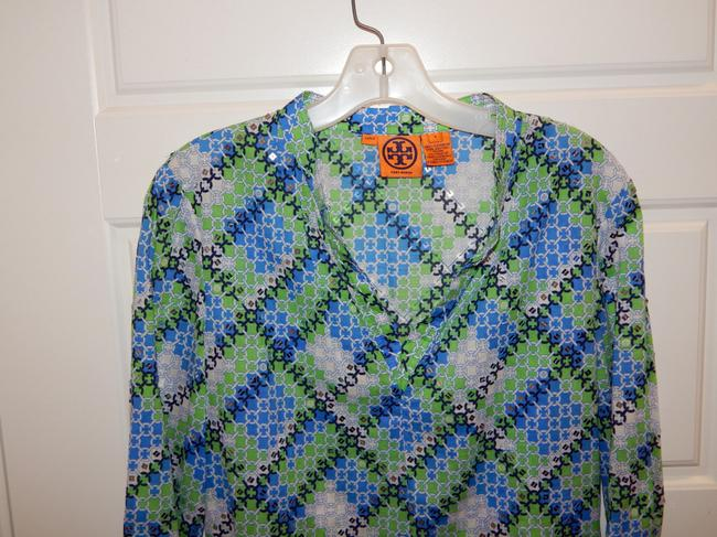 Tory Sequin Blouse Tunic Image 4