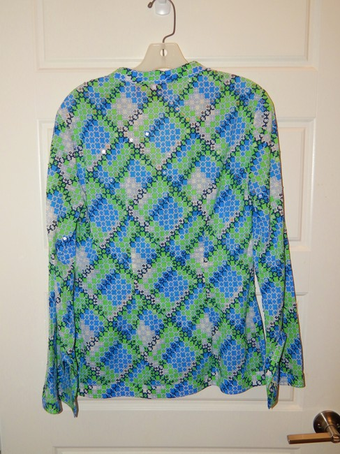 Tory Sequin Blouse Tunic Image 8
