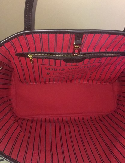Louis Vuitton Tote in Red Image 9