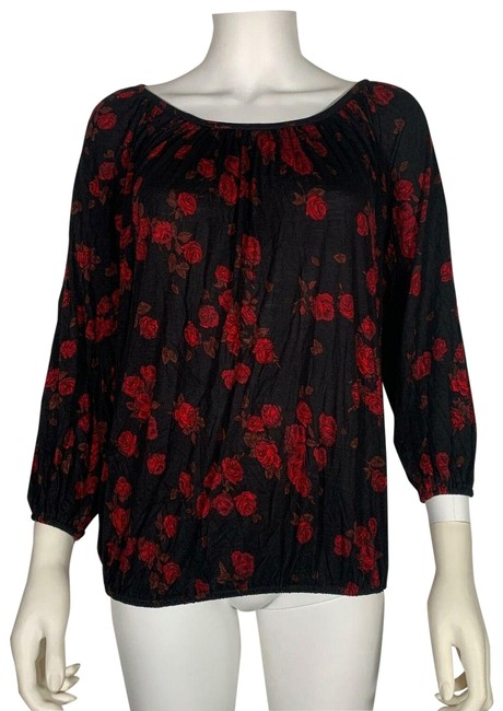 Preload https://img-static.tradesy.com/item/26150101/michael-kors-multicolor-eden-rose-floral-gathered-peasant-s-new-blouse-size-4-s-0-1-650-650.jpg