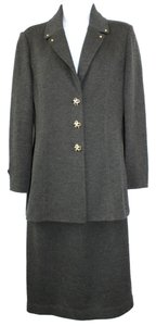 St. John ST. JOHN COLLECTION BY MARIE GRAY SANTANA KNIT SKIRT SUIT 2 6