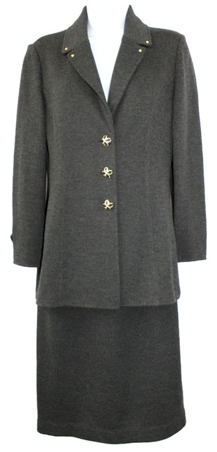 Item - Gray Collection By Marie Santana 2 6 Skirt Suit Size 4 (S)