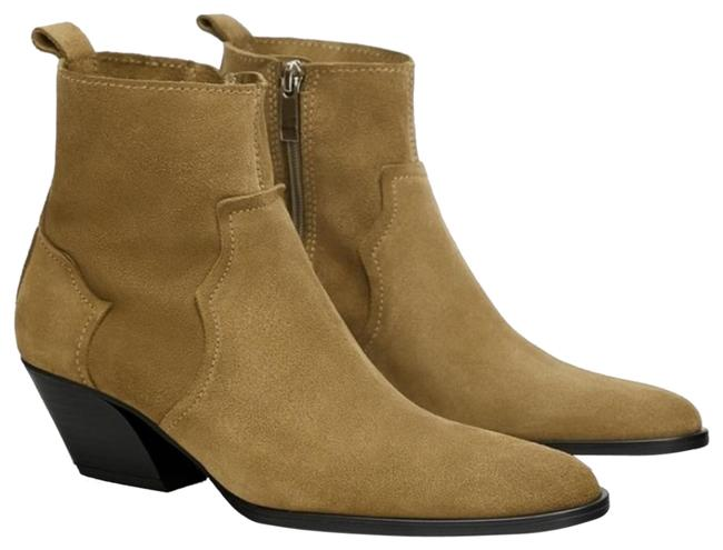Item - Taupe Suede Leather Ankl Boots/Booties Size US 9 Narrow (Aa, N)