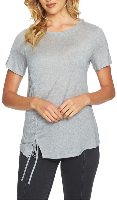 Item - Gray Cinch Hem Tee Shirt Size 12 (L)