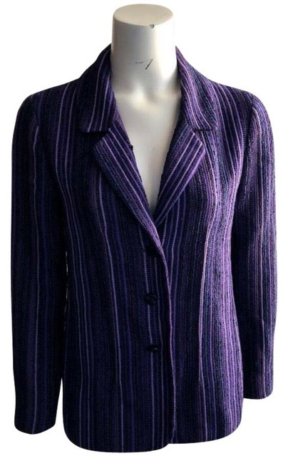 Item - Purple Luxurious with Chain Blazer Size 6 (S)