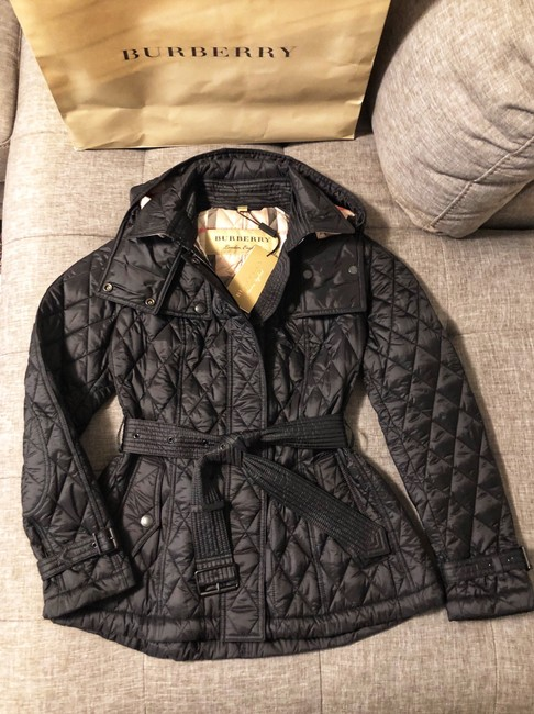 Burberry black Jacket Image 8