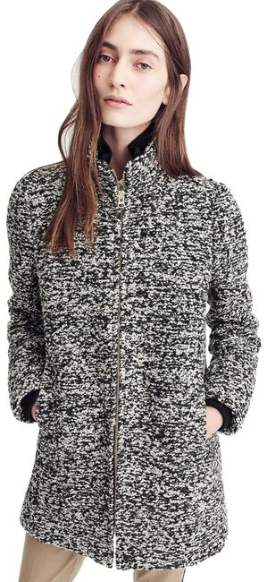 Item - Multicolor Lodge In Speckled Boucle New 0 Coat Size 0 (XS)