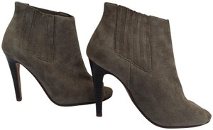 Halogen Leather Tan Boots