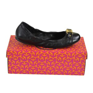 Tory Burch Ballet Leather 8 Ambrose Tory Navy Flats
