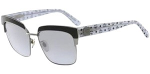 MCM NEW MCM Women's 102S 046 Silver Visettos Sunglasses