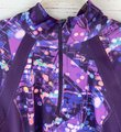 Tek Gear Purple Blue Green Abstract Spotted Print Zip-up Activewear Outerwear Size 16 (XL, Plus 0x) Tek Gear Purple Blue Green Abstract Spotted Print Zip-up Activewear Outerwear Size 16 (XL, Plus 0x) Image 2