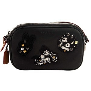 COACH Disney Mickey Pouch Cross Body Bag