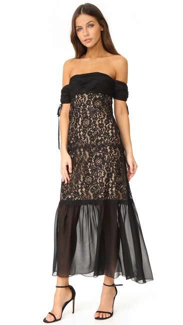 Rachel Zoe Arlene Lace Gown Dress Image 4