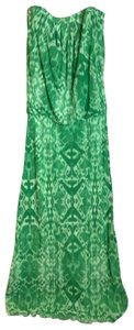 green and white Maxi Dress by Sweet Pea by Stacy Frati