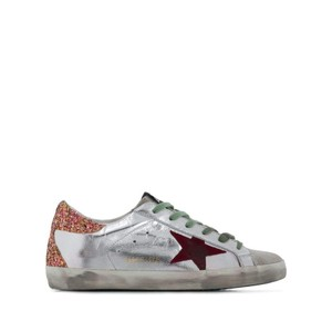 Golden Goose Deluxe Brand Sneakers G35ws590p12 Silver Athletic