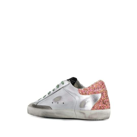 Golden Goose Deluxe Brand Sneakers G35ws590p12 Silver Athletic Image 1