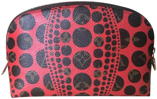 Preload https://img-static.tradesy.com/item/26155743/louis-vuitton-red-pouch-rare-limited-kusama-cosmetic-bag-0-1-540-540.jpg