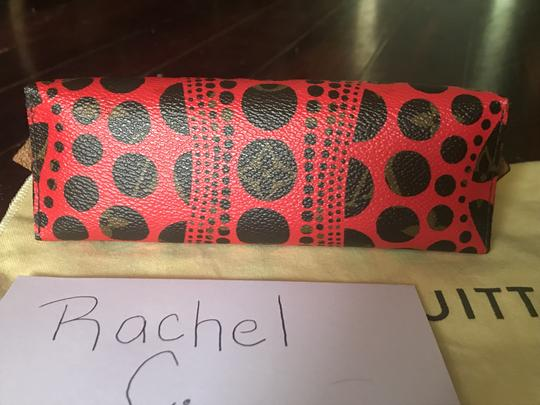 Louis Vuitton Brand New Louis Vuitton RARE Limited Edition Red Kusama Cosmetic Pouch Image 10
