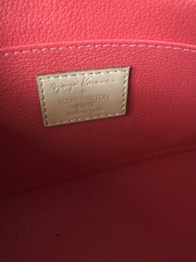 Louis Vuitton Brand New Louis Vuitton RARE Limited Edition Red Kusama Cosmetic Pouch Image 2