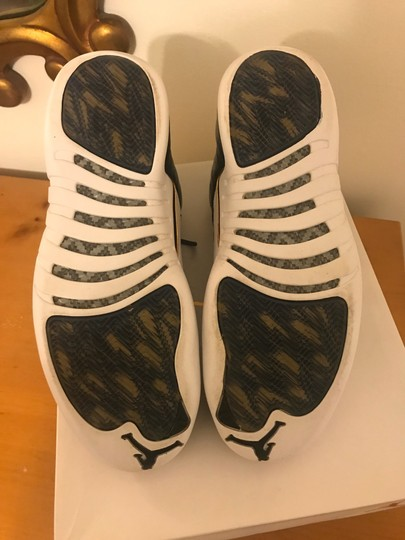 Air Jordan 12 XII Wings Size 11.5 DS Black/White/Gold Athletic Image 7