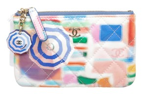 Chanel Multicolor Patent Coin Purse 493873