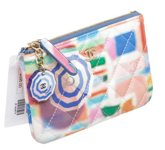 Chanel Multicolor Patent Coin Purse 493873 Image 2