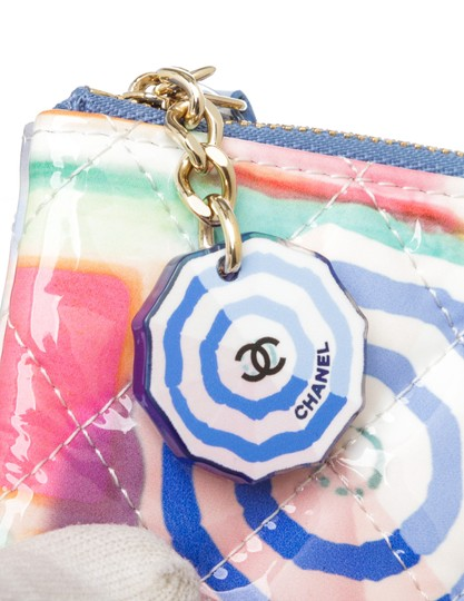 Chanel Multicolor Patent Coin Purse 493873 Image 3