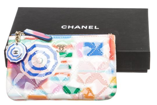 Chanel Multicolor Patent Coin Purse 493873 Image 4
