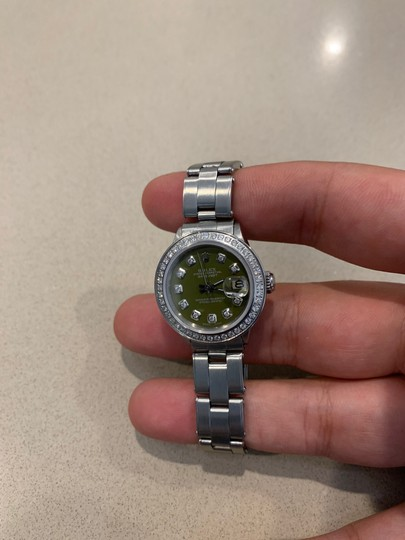 Rolex ladies Rolex Oyster Perpetual Datejust watch Image 2