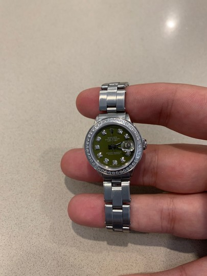 Rolex ladies Rolex Oyster Perpetual Datejust watch Image 3