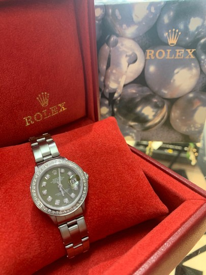 Rolex ladies Rolex Oyster Perpetual Datejust watch Image 5