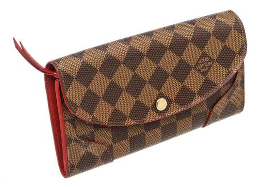Louis Vuitton Damier Ebene and Cerise Caissa 493882 Image 2