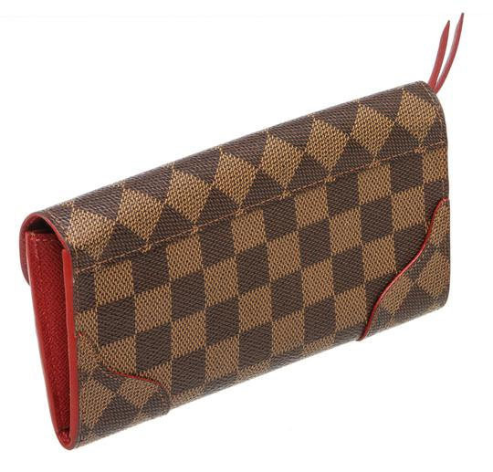 Louis Vuitton Damier Ebene and Cerise Caissa 493882 Image 4
