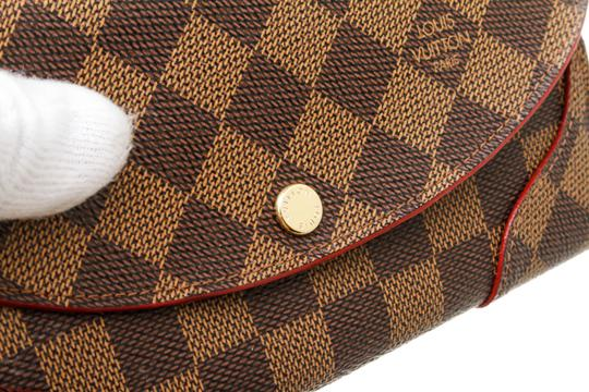 Louis Vuitton Damier Ebene and Cerise Caissa 493882 Image 6