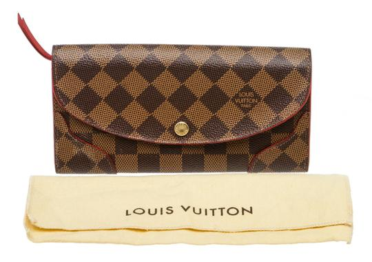 Louis Vuitton Damier Ebene and Cerise Caissa 493882 Image 8
