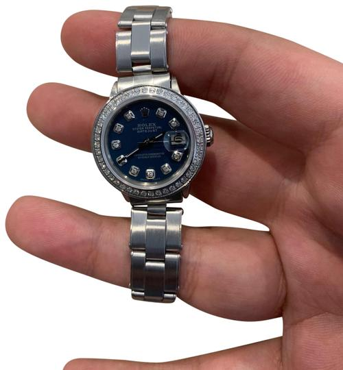 Preload https://img-static.tradesy.com/item/26155809/rolex-ladies-oyster-perpetual-datejust-watch-0-1-540-540.jpg