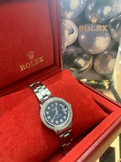 Rolex ladies Rolex Oyster Perpetual Datejust watch Image 4
