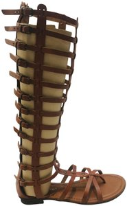 A. Giannetti brown Sandals
