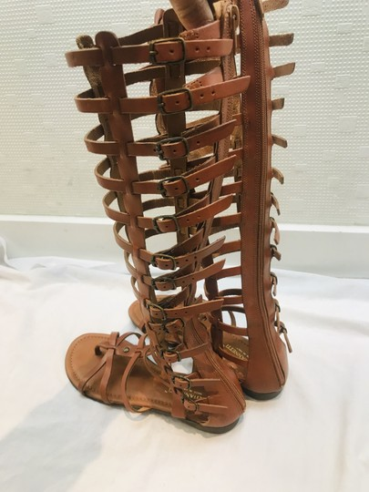 A. Giannetti brown Sandals Image 1