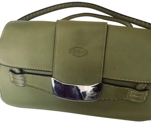 Tod's Satchel in lime green