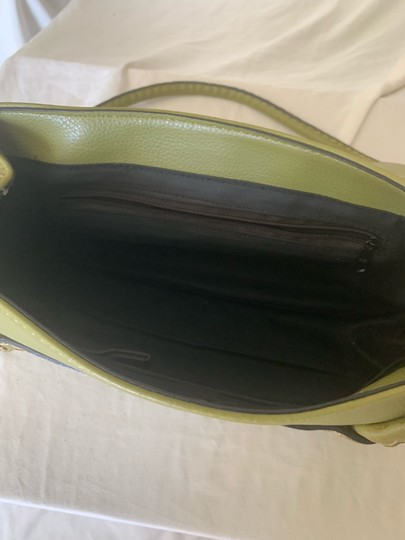 Tod's Satchel in lime green Image 4