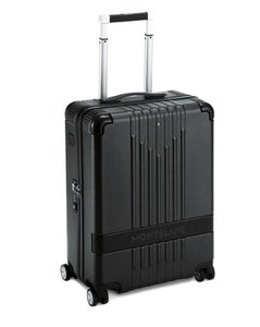 Montblanc Cabin Trolley Suitcase Black Travel Bag
