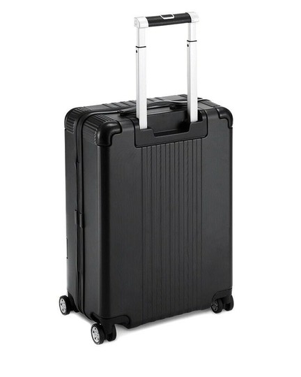 Montblanc Cabin Trolley Suitcase Black Travel Bag Image 1