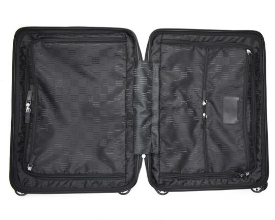 Montblanc Cabin Trolley Suitcase Black Travel Bag Image 5