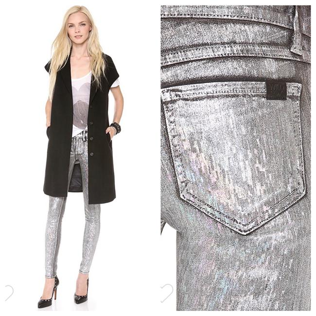 Wildfox Skinny Jeans-Coated Image 1
