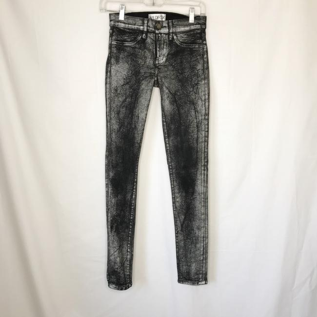 Wildfox Skinny Jeans-Coated Image 10